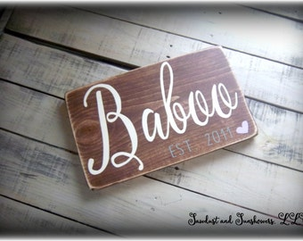 Wedding Sign, Custom Name Sign,Established Date Plaque,Personalized Name Sign,Rustic Wooden Sign,Wood Wall Decor,Wood Word Art,Country Decor