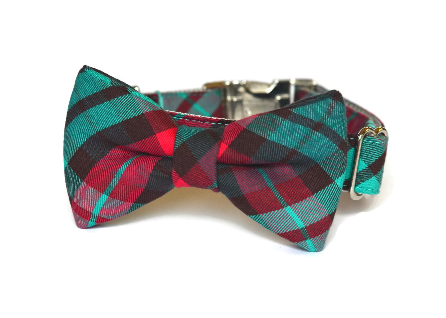 Red Bow Tie Dog Collar