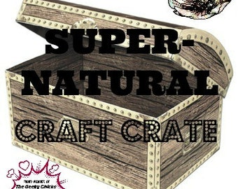 Supernatural Craft Crate Mystery Box