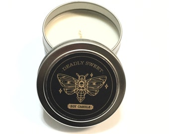 4oz Soy Candle Tins