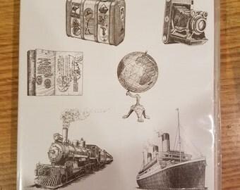 """Stampin Up """"Traveler"""" Stamp Set"""