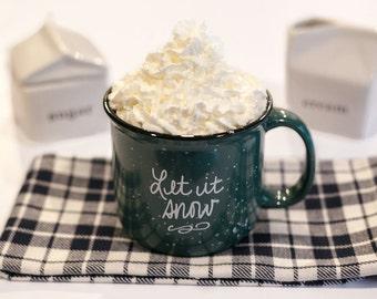 Let it Snow Campfire Mug