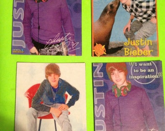 Justin Beiber Magnets ( young Justin )