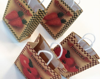 Miniature Vegetable Bags