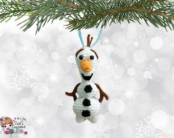 Olaf ornament | Etsy