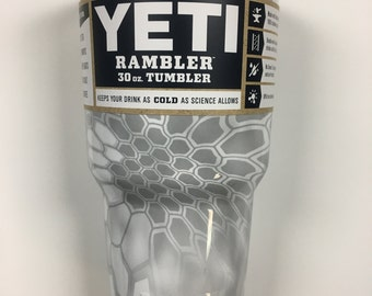 Custom Kryptek Yeti Camo 30 oz Yeti Rambler