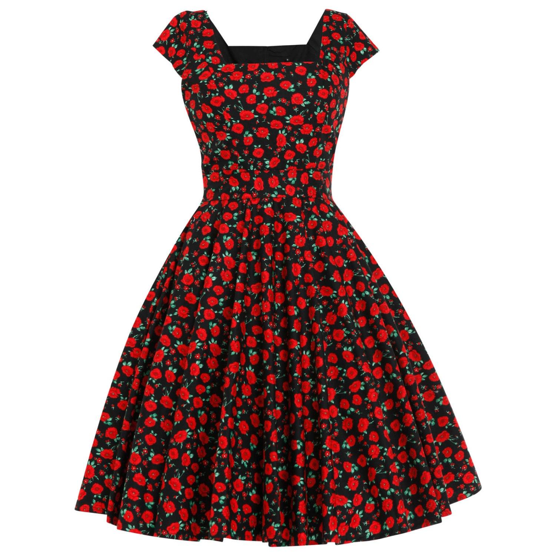 1950s party dress - Etsy