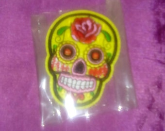 Skull Iron Patch Iron patch