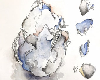 Watercolor forms I