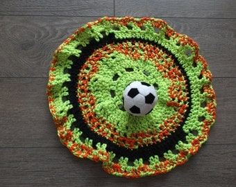 Doudou-soccer fun and colorful baby