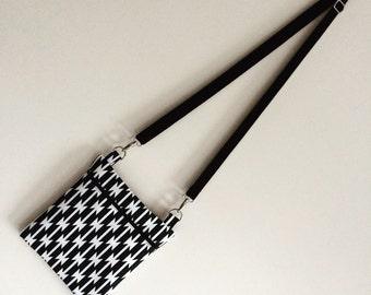 Monochrome Cross Body Bag