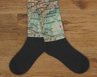 Custom Map Socks