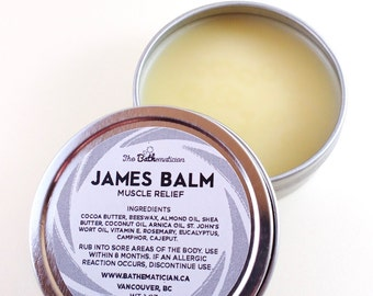 JAMES BALM 007, Muscle Balm, Stocking Stuffers For Men, Gifts For Men