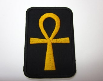 Ankh Symbol Patch Iron or Sew on patch