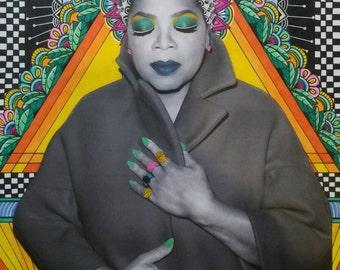 Oprah Queen Print
