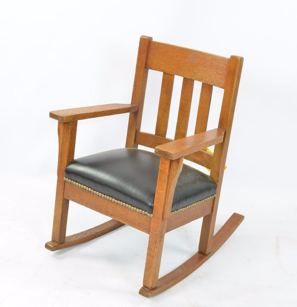 Stickley Style Childs Rocking Chair : ilfullxfull871086013l1yj from www.etsy.com size 992 x 1025 jpeg 88kB