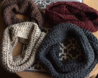 Crocheted Double-Wrap Scarf