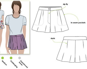 style arc pdf sewing patterns for women by stylearc on etsy