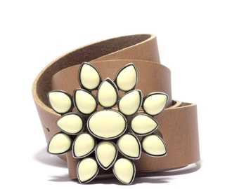 Handmade Leather Belt for women