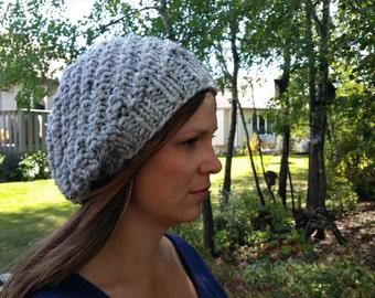 Chelsea Slouchy Hat Knitting Pattern