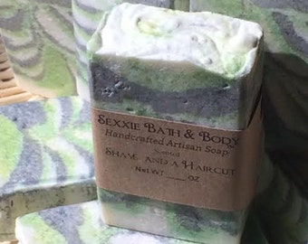 Shave And A Haircut Handcrafted Soap For Men