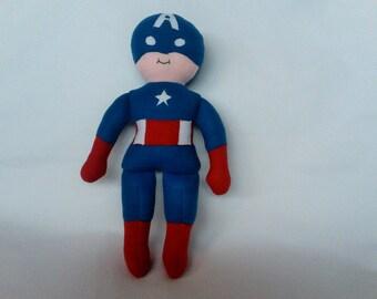 Super Dorable - Captain America - plush Action Figure for boys