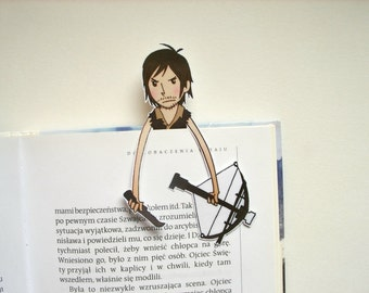 The walking dead Daryl bookmark