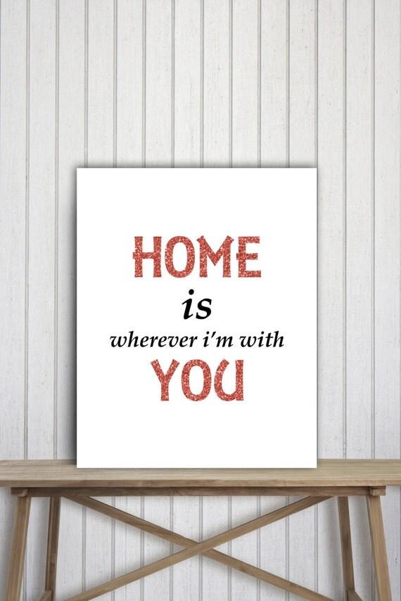 Printable Family Wall Decor : Family wall decor art print home printable poster quote