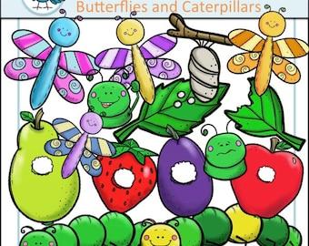 Caterpillar clipart – Etsy