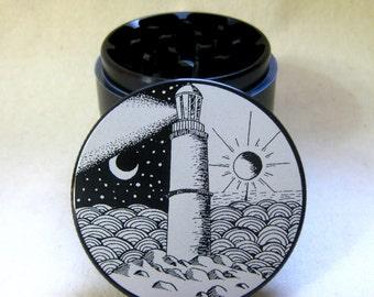 Lighthouse Herb Grinder - Artist Original