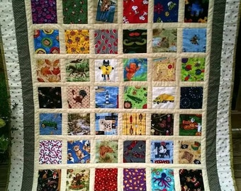 I Spy quilts for infants through toddlers.
