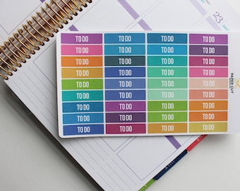 Planner Stickers - TO DO PLANNER Stickers
