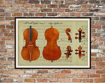 """Shop """"cello"""" in Art & Collectibles"""