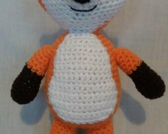 Crochet Fox - Handmade Fox toy - Fox gift - Woodland Animals - Soft toy Fox