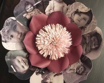Custom Photo Flowers