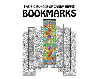 coloring bookmarks coloring book bundle 15 printable adult coloring pages for adults and big kids