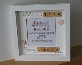 Twinkle Twinkle Little Star Photo Frame