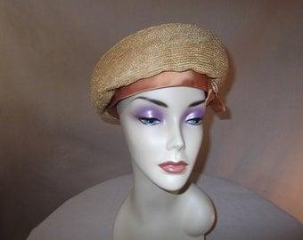 Vintage Betmar Straw Hat