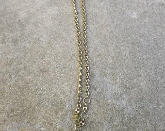 Vintage Gucci Belt- Vintage Gucci Necklace-Chained Gucci Belt- Chained Gucci Necklace Gold tone