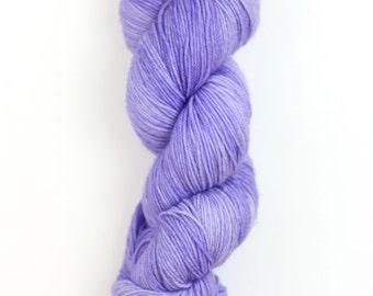 Hand Dyed Yarn. Merino Cashmere Nylon. 80/10/10. 435 yds. Sock. Classic Jellybean Light.