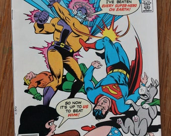 The Super Friends No. 3 comic book, February 1977