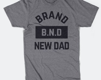 Brand New Dad Triblend T-Shirt - Father's Day