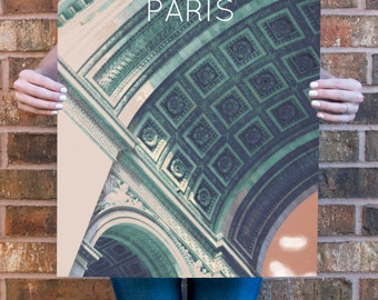 Paris Arc de Triomphe Poster 11x17 18x24 24x36