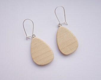 TERRILL TACTILE Maple Earrings