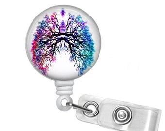 Decorative Anatomical Lungs, RT ,Respiratory Therapy Retractable ID Badge Reel, Pulmonary