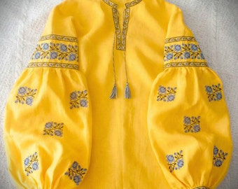 ukrainian embroidered boho blouse vyshyvanka bohemian ethnic shirt boho chic peasant top