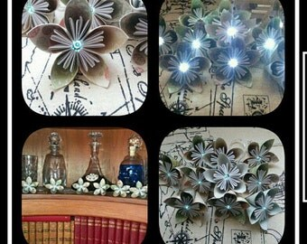 LED flower garland made to order