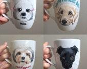 Custom Dog Mug - Personalized Ceramic Mug with YOUR Dog's Face!
