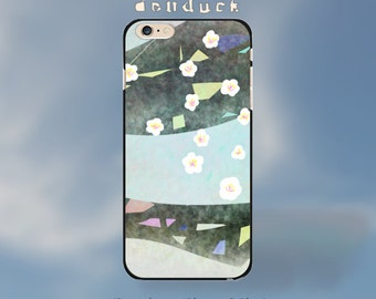 flying Cherry Blossom, flower for iPhone 6 Plus Case, iPhone 6 Case, iPhone 5/5S/5C Case, iPhone 4/4S Case