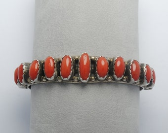 Corail cuff bracelet and sterling silver